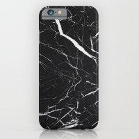 Black Marble  iPhone 6 Slim Case
