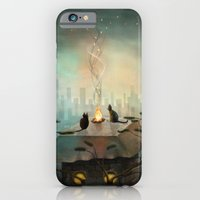 iPhone & iPod Case featuring As time goes by ... by Fizzyjinks