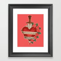 I Will Soon Forget Framed Art Print