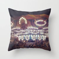Another Carousel  Throw Pillow