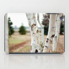 Line of Birches iPad Case