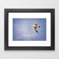 Sky's the limit Framed Art Print