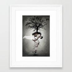 Horror Poster Framed Art Print