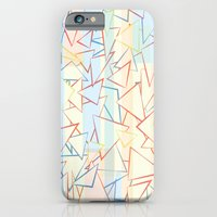 Attack Of The Triangles. iPhone 6 Slim Case