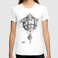 #16 Womens Fitted Tee White SMALL