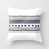 Pattern / Nr. 1 Throw Pillow