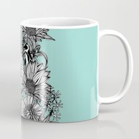 Penguins & Flowers Mug