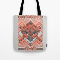 Hunting Club: Rathalos Tote Bag