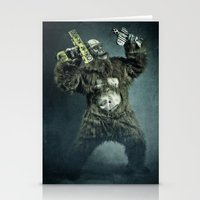 King Kong Plays It Again Stationery Cards