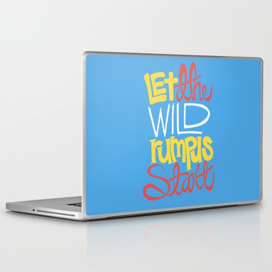 Where the Wild Things Are Laptop & iPad Skin