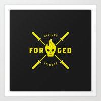 Forged Art Print