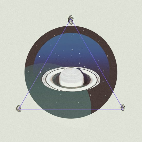 SATURN LOVE Art Print