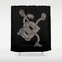 B-Boy Shower Curtain