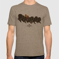 Still Flying Mens Fitted Tee Tri-Coffee SMALL