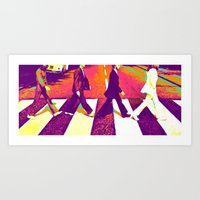 Fantastic Four Art Print
