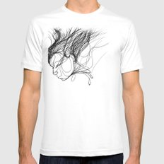 function Mens Fitted Tee SMALL White