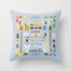 Pixel Art - Harry Potter Pillow Throw Pillow