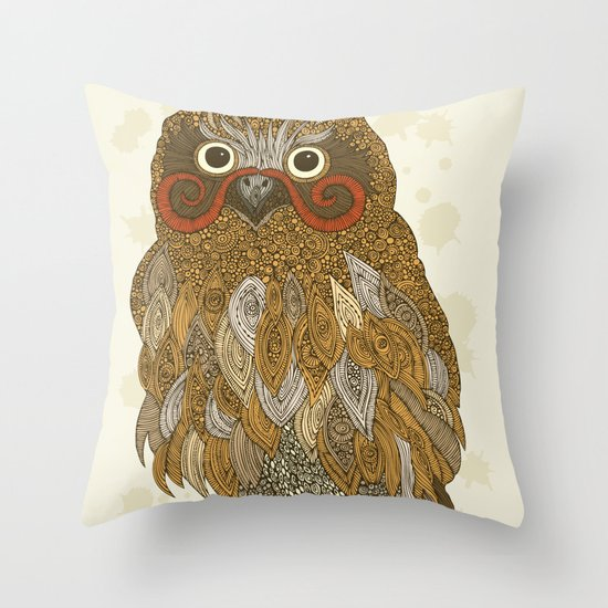 Mr. Earl Throw Pillow