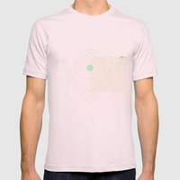Shea Mens Fitted Tee Light Pink SMALL
