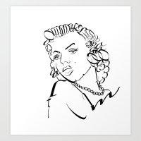 Mm Art Print