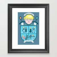 The Maid Of Tarth Framed Art Print