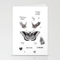 Tattoo à La Harry Stationery Cards