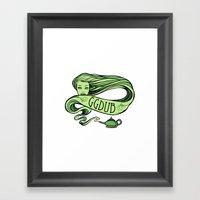 GGDUB - Gene In A Bottle… Framed Art Print