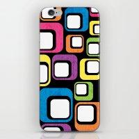 Retro All Sorts. iPhone & iPod Skin