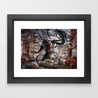 Amsterdamned Framed Art Print