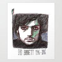Syd Barrett Art Print