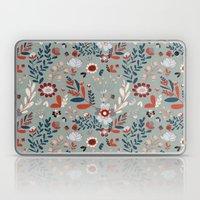Deep Indigos & Gray Gard… Laptop & iPad Skin
