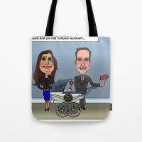 William, Kate & Baby Tote Bag