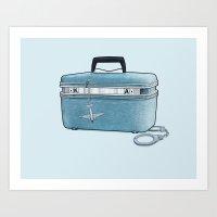 LOST Luggage / Kate Art Print