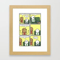 Antics #355 - in need of aromatherapy Framed Art Print