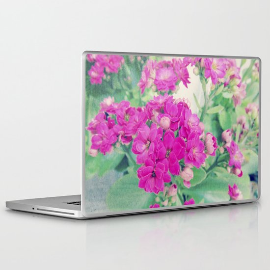 Get Well | Beautiful Rose Like Flowers Laptop & iPad Skin