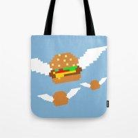 Food Flight Tote Bag