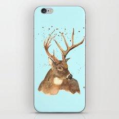 Ice Reindeer iPhone & iPod Skin