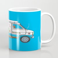 2 Bros. Plumbing Van Mug