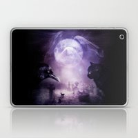 In The Glow of Darkness We Wait Laptop & iPad Skin