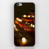 Cathedral Candles iPhone & iPod Skin