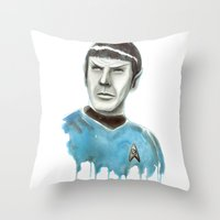 Live Long And Prosper Throw Pillow