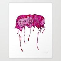 Mixed Emotions Art Print