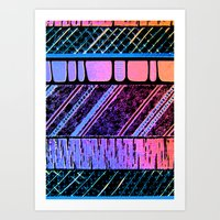Lights & Music Art Print