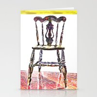 Chair Trio Stationery Cards