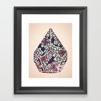 Sanctogram Framed Art Print