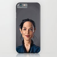 iPhone & iPod Case featuring Celebrity Sunday ~ Archie Panjabi by Rob Snow