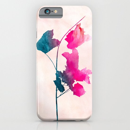 Maple1 Watercolor by Jacqueline Maldonado & Garima Dhawan iPhone & iPod Case