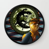 Ender's Game Wall Clock