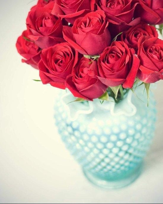Forgive Me ~ Red Roses Art Print