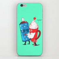 SANTA WANNABE iPhone & iPod Skin
